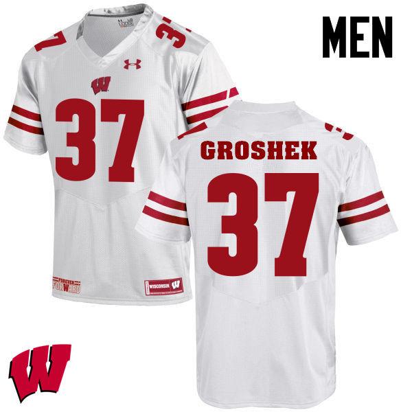 new concept 6b18a 6c3f8 Garrett Groshek Jerseys Wisconsin Badgers College Football ...
