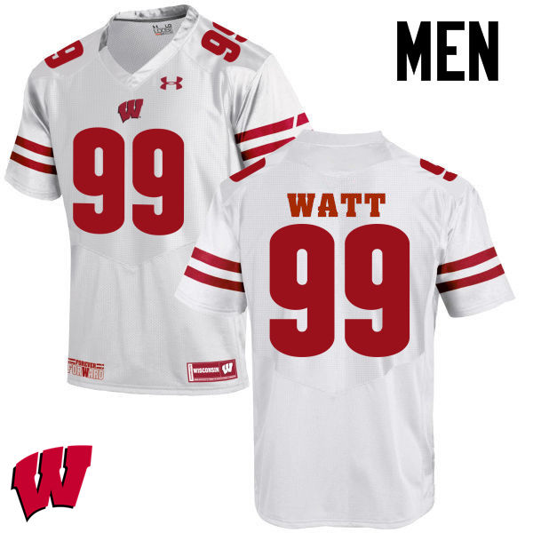 new style d0d22 d5b42 J. J. Watt Jerseys Wisconsin Badgers College Football ...