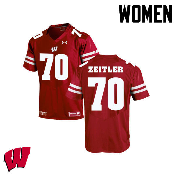 new style 372cb 19d47 Kevin Zeitler Jersey : Wisconsin Badgers College Football ...