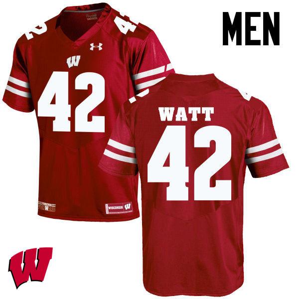 online store 18137 e149a T.J. Watt Jerseys Wisconsin Badgers College Football Jerseys ...